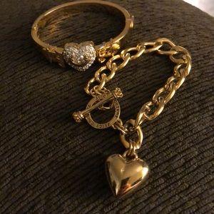 Juicy couture bracelets